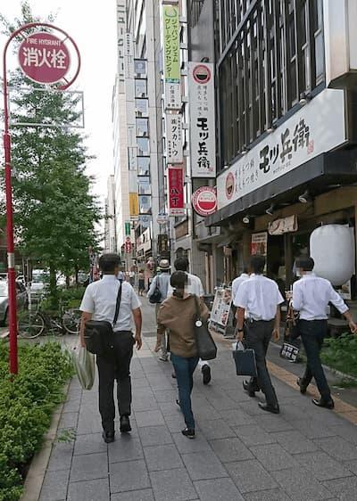 写真2・昭和通り沿いの風景