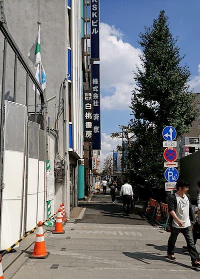 写真3・蔵前通り